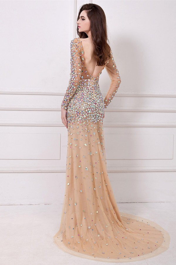 Aliexpress.com : Buy Prom Dresses Seattle Cream Extravagant Long ...