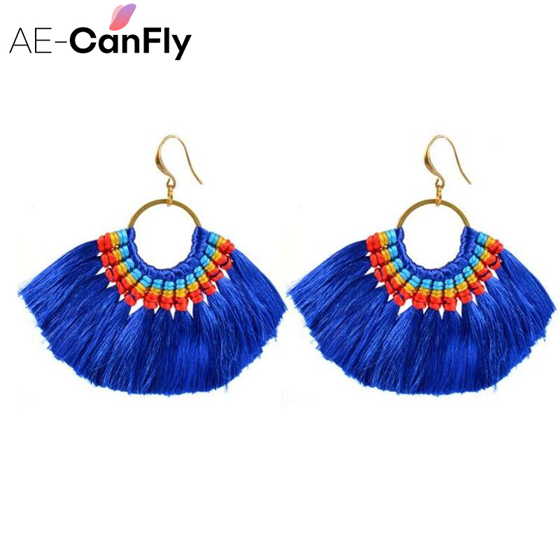 AE CANFLY Hot Brand Bohemian Color Fringed Wedding Tassel