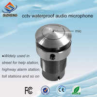 SIZHENG COTT-S8 CCTV microphone waterproof audio pick up sound monitor low noise for security camera system