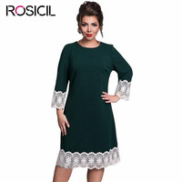 High Quality Brand Dress 6xl Spring Women Plus Size Lace Dress Elegant Party Girl Bodycon Casual