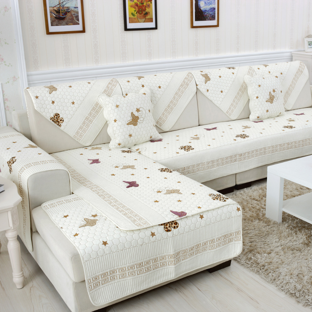 Seat Sofa Covers Slip Resistant Sofa Cotton Combination