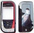 New дело Полный Крышку Корпуса Для Nokia 7610 Передняя Рамка + крышка Батарейного Отсека + клавиатур Бесплатная Доставка
