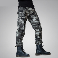 2017 New Men Joggers Camouflage Cargo Pants Winter Autumen Tactical Army Green Men S Military Trousers