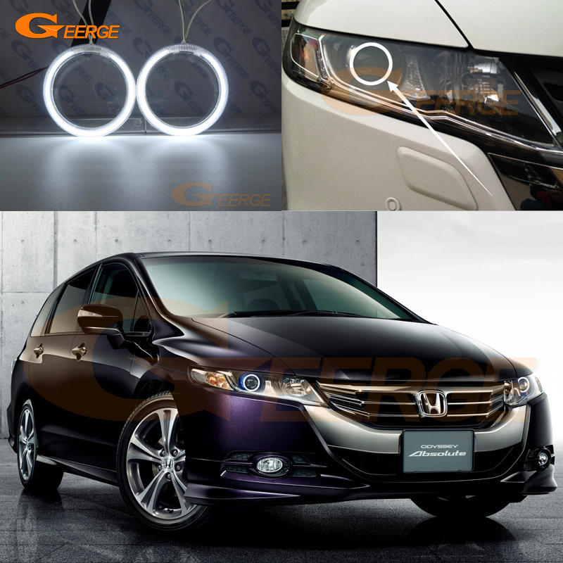 For honda Odyssey RB3 RB4 2008-2013 Excellent angel eyes Ultra bright illumination CCFL Angel Eyes kit Halo Ring ...