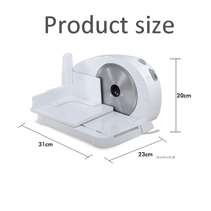 Household Electric Meat Slicer Multi-function Bread Toast Food Cutter For Frozen Beef Mutton Ham Vegetable Slicing Machine 220v