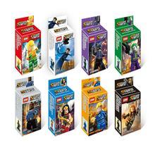 XINH 051-058 Catwoman Wonder Woman Black Widow Building Bricks Blocks Minifigures Sets Education Children Toys
