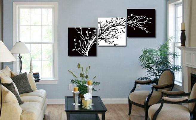 Aliexpress.com : Buy 3 Piece Wall Art Modern Abstract