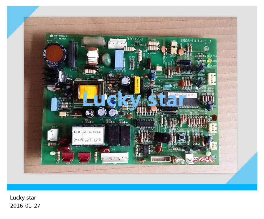 95% new for Haier Air conditioning computer board circuit board KFR-60LW/BPJXF 3300259 good working 95% new for haier refrigerator computer board circuit board bcd 198k 0064000619 driver board good working
