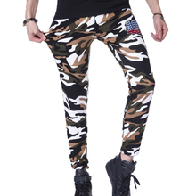 2017 NEW sweatpants Men's gasp workout bodybuilding clothing casual camouflage sweatpants joggers pants skinny trousers