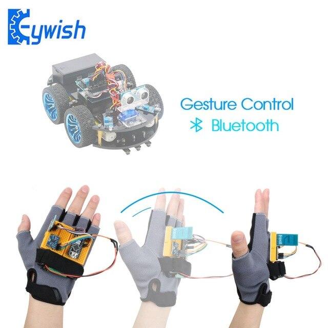 Keywish Gesture Motion Starter Kit for Arduino Nano V3.0 Support Robot Smart Car MPU6050 6 Axis Accelerometer Gyroscope Module