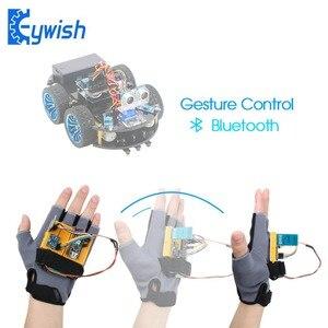 Image 1 - Kit de démarrage geste mouvement Keywish pour Arduino Nano V3.0 Support Robot voiture intelligente MPU6050 Module Gyroscope accéléromètre 6 axes