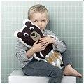 Mr. Urso Do Bebê Do algodão Travesseiro travesseiro beioufeng Ins robô criança bonito brinquedos urso com o sono para acompanhar sono do bebê bonecas travesseiro