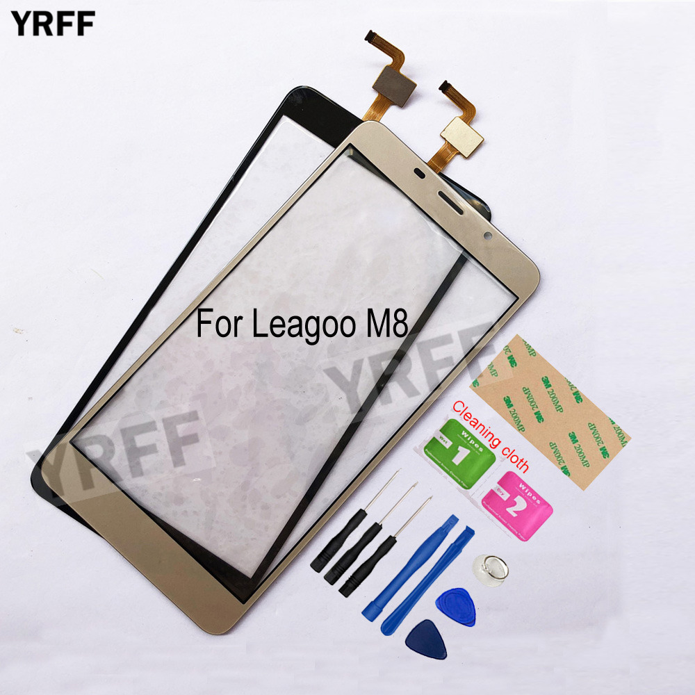 5.7'' <font><b>M8</b></font> Mobile Touch Screen For <font><b>Leagoo</b></font> <font><b>M8</b></font> <font><b>Pro</b></font> Touch Screen Digitizer Touch Panel Replacement Front Glass Lens Sensor image