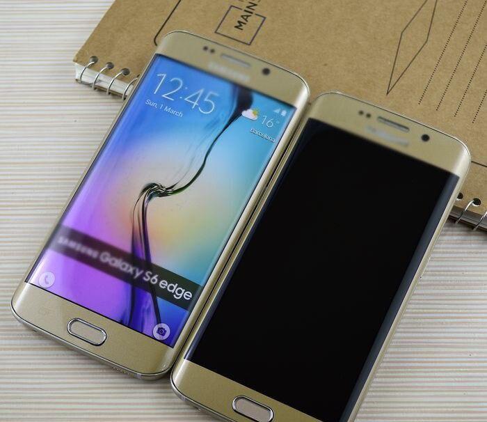 imágenes para Tamaño 1:1 Non Trabajo Falso Pantalla Simulada de Teléfono Para Samsung Galaxy S6 S7 S7 S6 Edge Edge Solamente Para la Exhibición