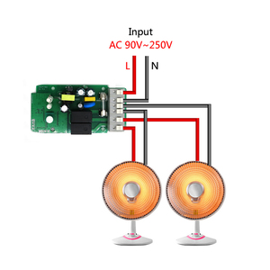 Image 2 - Itead Sonoff Dual 2ch 15A 3500W Wifi Smart Switch Light Remote Timer Wireless 2 Gang Control Works with Amazon Alexa Google Home