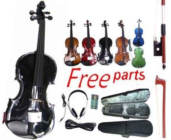 Electro-acoustic violin traditional violin maple spruce quality violin