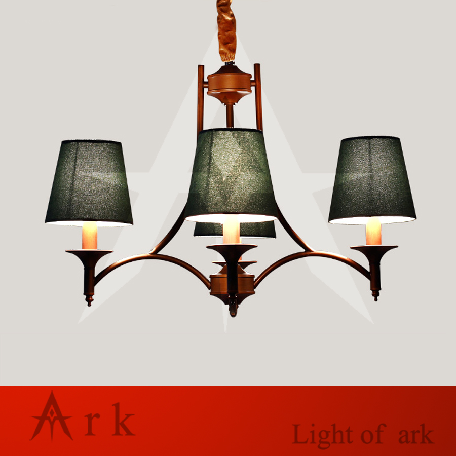 ARK LIGHT Vintage Rural style pendant light american wrought iron led pendant light cottage dining room living room study room ark light vintage rural style pendant light american wrought iron led pendant light cottage dining room living room study room