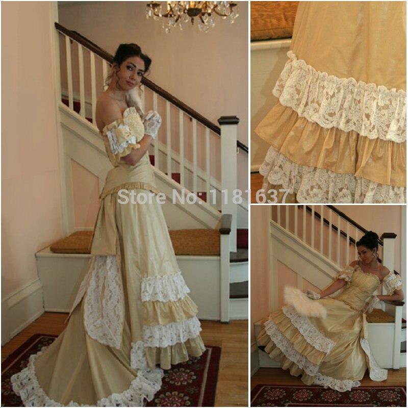 Livraison gratuite! en solde! Robe Lolita V-12258Gothic/robe victorienne/costume d'halloween US6-26 XS-6XL