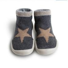 Joyo roy Kinder rutschfeste Boden Schuhe 0-2 Jungen Mädchen Baby Kleinkind Anti-Rutsch-Schuhe Säuglingsgummisohle Boden Sock Schuhe dj0119