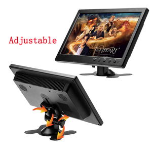 Image 5 - Podofo CAR HD 1024*600 10.1 Inch Color TFT LCD Screen Slim Display Monitor for Truck Bus Vehicle Support HDMI VGA AV USB SD Port
