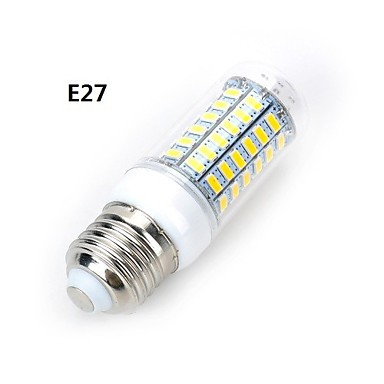 LED Globe Bulbs HRSOD E14/GU10/G9/B22/E26/E27 15 W 69 SMD 5730 1500 LM Warm White/Cool White Corn Bulbs (110V/220V) цена