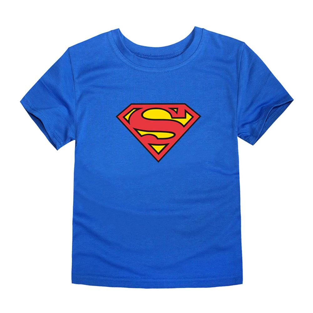 HTB1bGevQVXXXXXcXFXXq6xXFXXXW - TINOLULING 2018 Kids Superman T-Shirt Boys Girls Batman T Shirt Children Tops Baby Tees For 2-14 Years