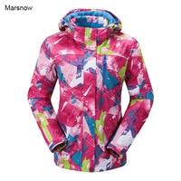 2016 New Women Winter Sport Snowboard Jacket Ladies Snowboard Ski Jackets Clothes Windproof Waterproof Breathable Skiing
