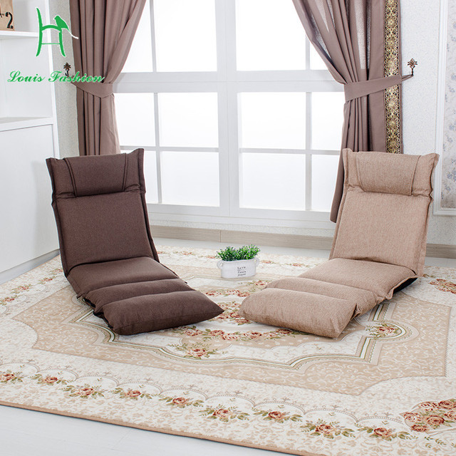 Tatami Sofa Lazy Nap Pad Easy To Clean Japanese Legless Back Function Chair
