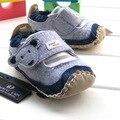 2016 новое прибытие весна лето denim blue хорошее качество baby boy обувь новорожденного малыша первые ходунки для 3-24month