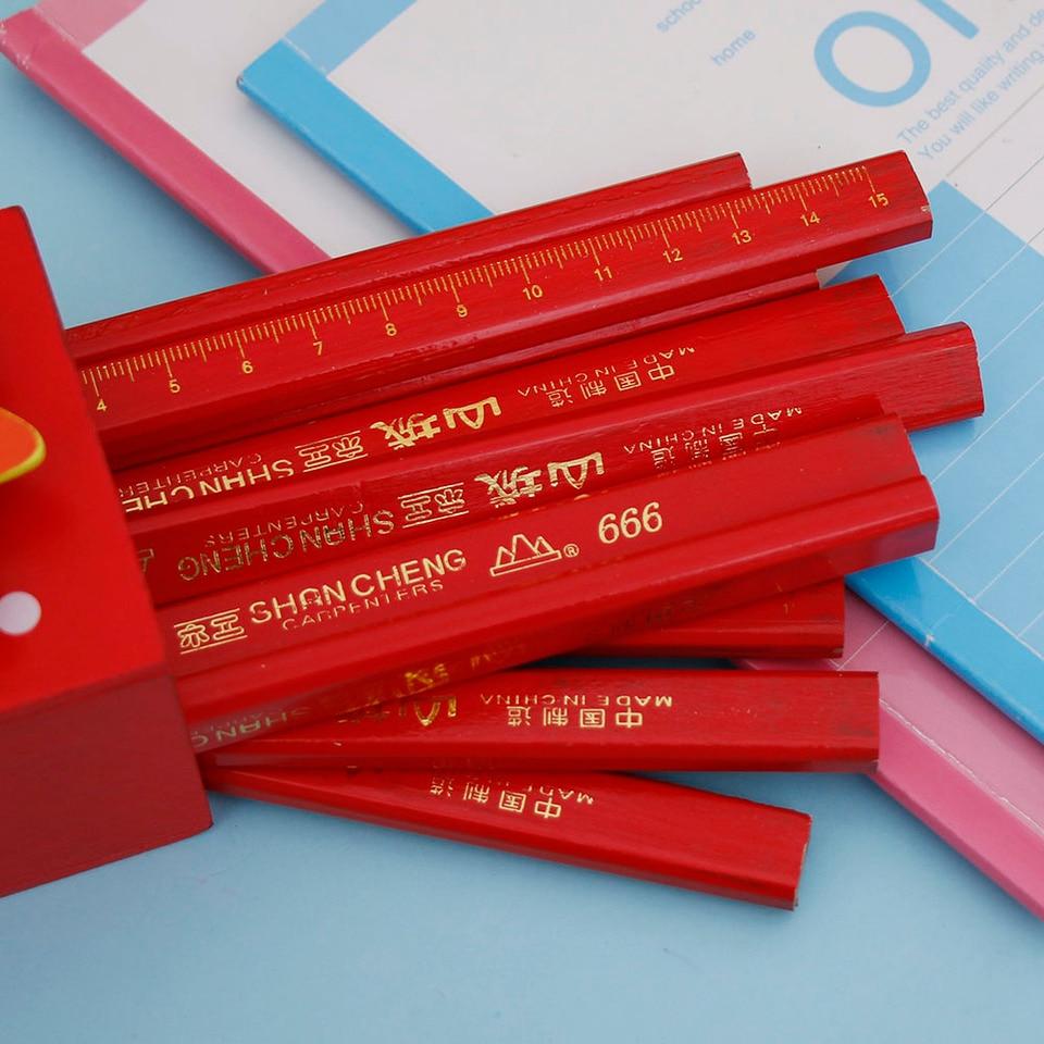 Limit Shows Diy 10pcs 175mm Carpenter Pencils Black Lead Builders Woodworking Craft Helpful Erasable Painting Tools Standard Pencils Aliexpress