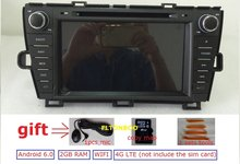 8″Android 6.0 for Toyota prius left car dvd,gps navigation,rds,wifi,4G LTE,quad core,1024 x 600,2GB RAM,support DVR,OBD2,Russian