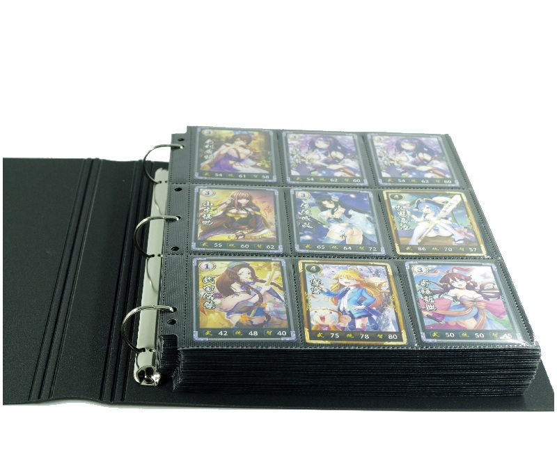 30pages trading game cards board game album playing cards holder Albums book For Pokemen CCG MTG
