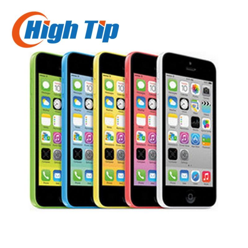 Original Unlocked Apple iphone 5C phone 8MP Camera 8GB 16gb 32GB ROM IOS 4 0 WCDMA