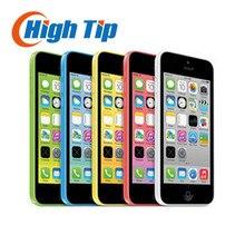 """Оригинальный Разблокирована Apple iphone 5C телефон 8MP Камера 8 ГБ 16 ГБ 32 ГБ ROM IOS 4.0 """"WCDMA Wifi GPS Бесплатная Доставка Используется 1 год гарантии"""