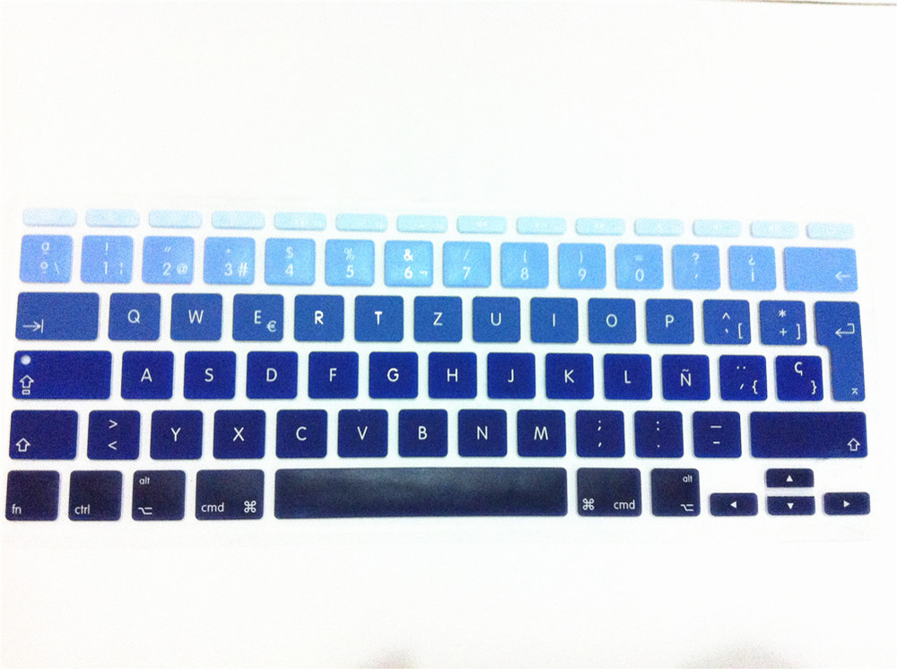 """BLUE Silicone Keyboard Cover for NEW Macbook Air 11/"""""""