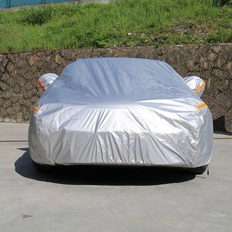 Kayme bâches de voiture imperméables couverture de protection solaire extérieure pour voiture pour ford mondeo focus 2 3 fiesta kuga ecosport explorer ranger - 2