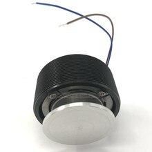 Preto 44mm de energia áudio vibração alto-falante/mini alto-falante portátil diy vai cantar a mesa vibro alto-falante