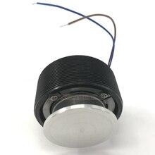 BLACK 44MM Power audio vibration speaker / mini speaker diy portable speaker Will sing the table vibro speaker
