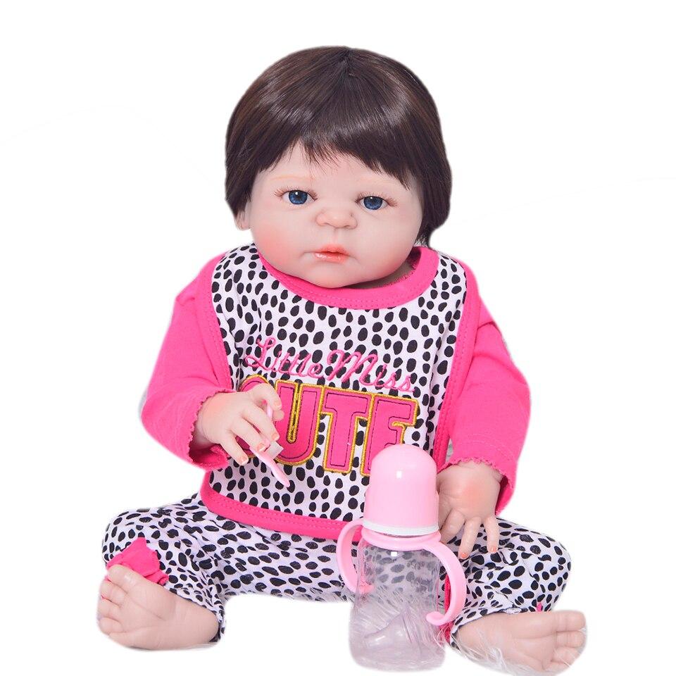 Recién Llegado Bebés Renacidos Chica 23 '' Realista Muñecas - Muñecas y peluches - foto 2