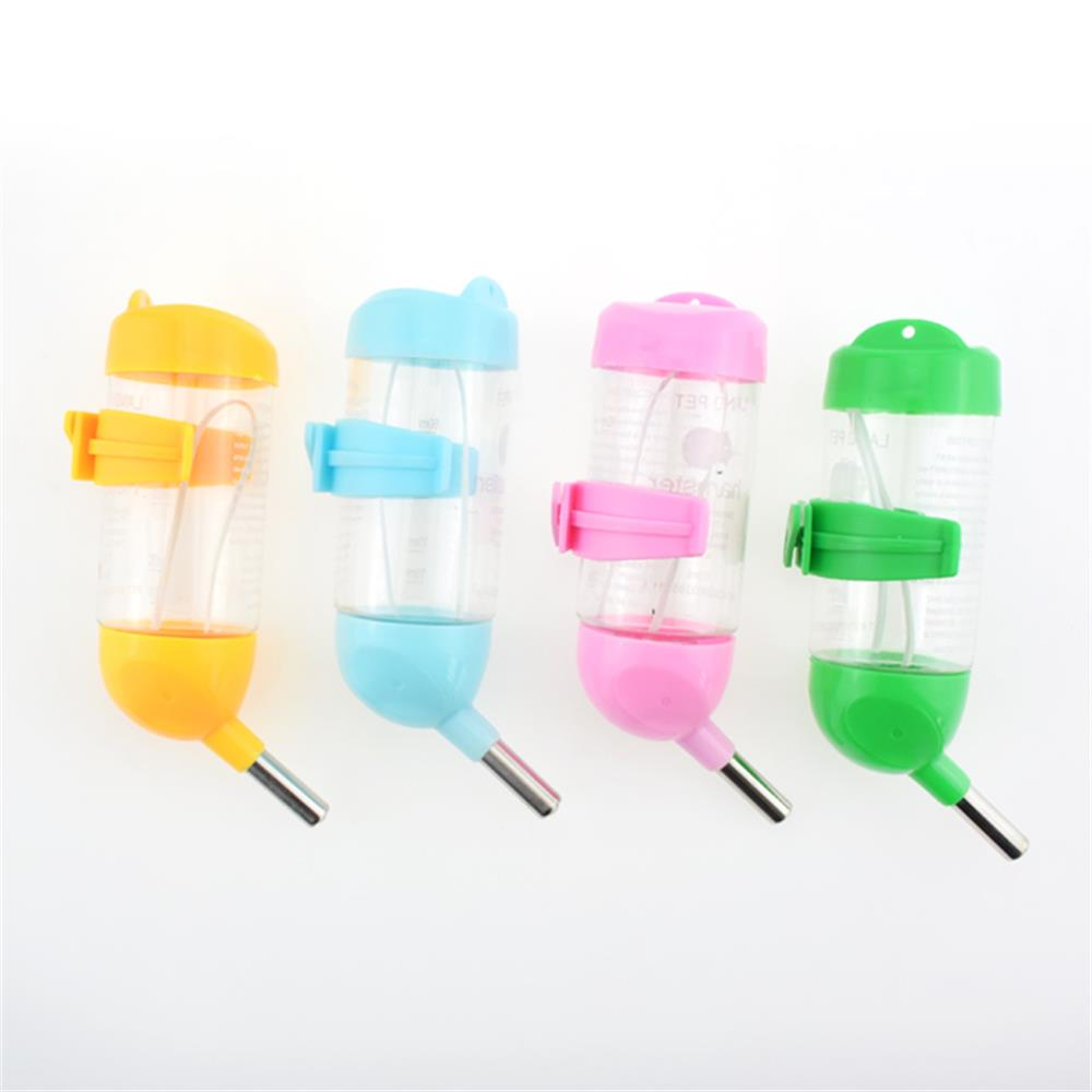 Can Hanging Cage Leak Proof Small Pet Water Bottle Hamster Cages Accessories Kettle Small Animals Feeding Watering Supplies