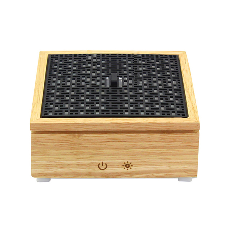 EAS Ultrasonic Aroma Diffuser Air Humidifier Wooden Box Essential Oil Diffuser Mist Maker Aromatherapy Humidifier For Home 120