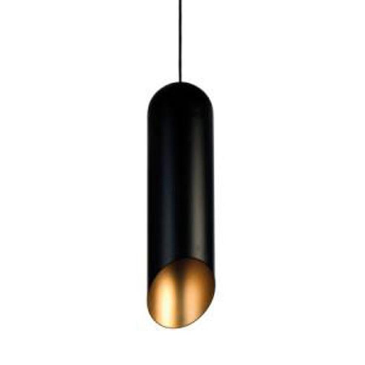 Modern Design Pipe Pendant Lights Aluminum Lampshade Home Lighting 110V Lamp Fixtures E27 220V For Bar Living Room  2016 New