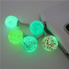 CatXaa светящийся ночной Светильник 3,5 мм разъем для наушников Пылезащитная гарнитура для наушников для мобильного телефона аудио Пылезащитная для планшетных ПК