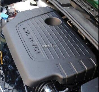 Para Ford Focus 1.6L 2012 2013 2014 2015 2016 2017 cubierta del motor del coche accesorios de la cubierta superior del motor