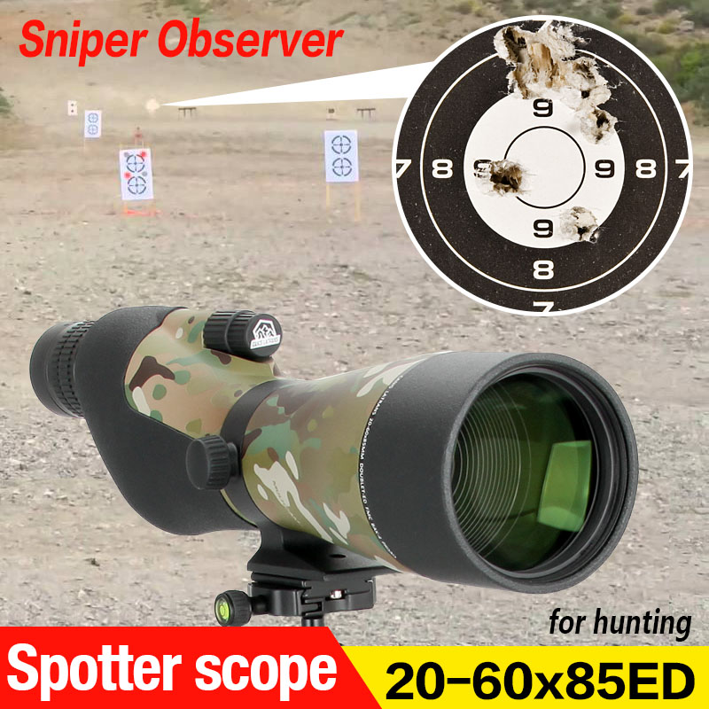 E.T Dragon 20~60X85ED Spotting Scope ED Glass Eyepiece Monocular Powerful 20~60X85 Zoom Telescope GZ26-0026