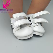 Boots Sneackers Shoes Doll-Accessories Doll Hook Girl White 18inch Babe 43cm Fit Loop