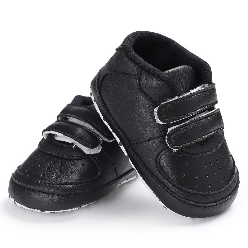 Baby Boys Leisure PU Soft Bottom Spring Autumn Shoes First Walkers Anti-Skidborn Baby Toddler Shoes New