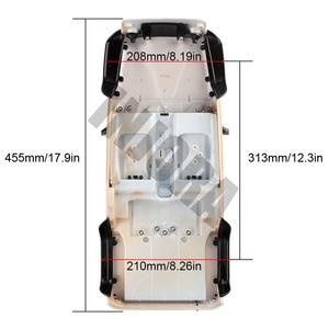 Image 5 - INJORA غير مجمعة 12.3 بوصة 313 مللي متر هيكل السيارة هيكل السيارة قذيفة ل 1/10 RC الزاحف محوري SCX10 و SCX10 II 90046 90047 جيب رانجلر