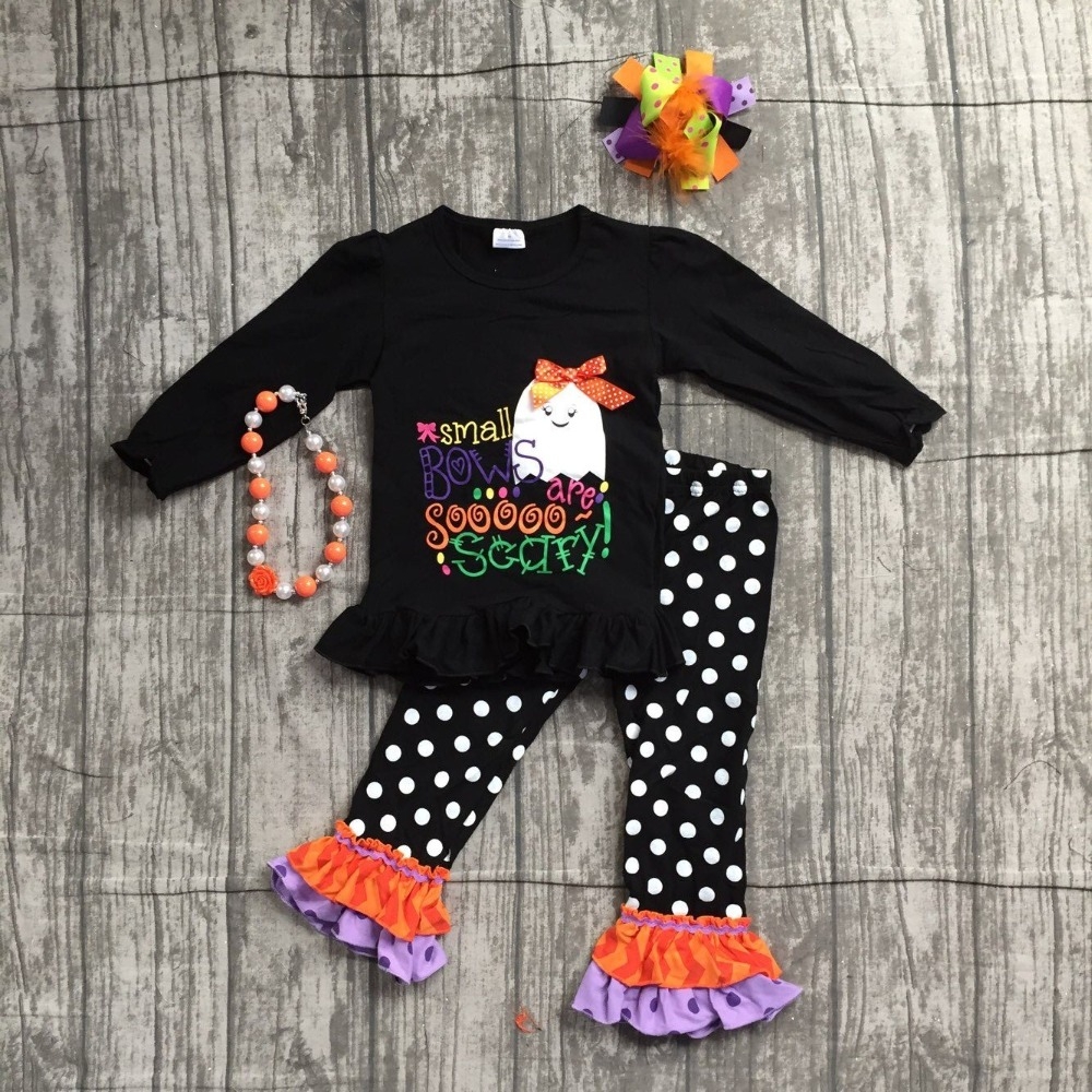 Special Offer clothing baby girls Halloween outfits boutique children small boves are so scary pant cotton sets match accessory special offer clothing baby girls halloween outfits boutique children small boves are so scary pant cotton sets match accessory