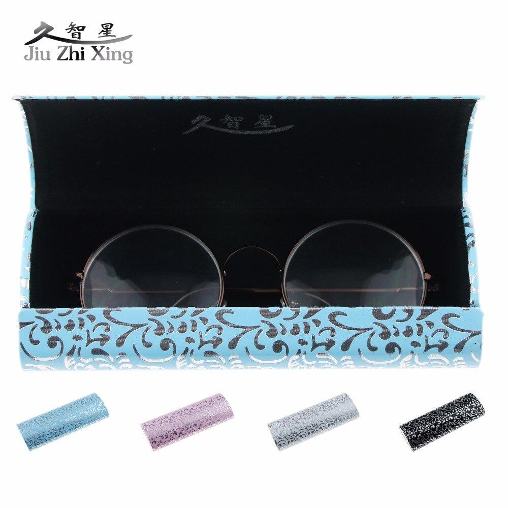 JIU ZHI XING 2017, новый модный Чехол для очков ручной работы, женские и мужские солнцезащитные очки, очки для чтения, футляр для очков, кожаные очки|glasses box|eyewear casesspectacle case | АлиЭкспресс